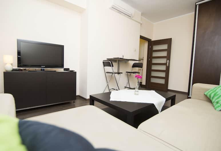 Rent a Flat apartments - Korzenna St., Gdansk, Suite, 1 soverom, Stue