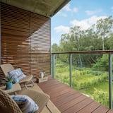 ห้องคอมฟอร์ทสวีท, 1 ห้องนอน, ระเบียง, ริมชายหาด - ระเบียง