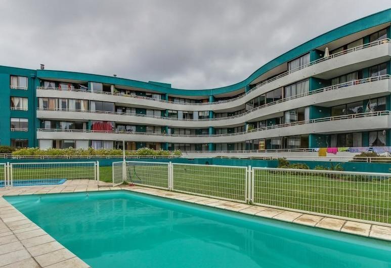 Renaca Getaway, Viña del Mar, Departamento, 2 habitaciones, Alberca al aire libre