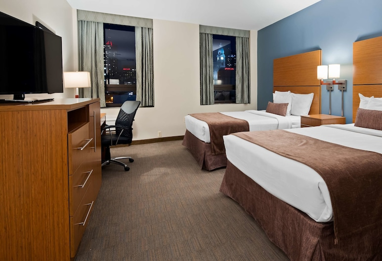 Best Western Plus Philadelphia Convention Center Hotel, Philadelphia, Standard Room, 2 Double Beds, Non Smoking, Refrigerator, Guest Room