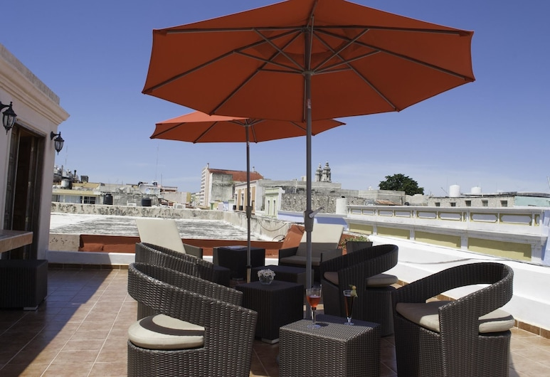 Hotel Maya Campeche, Campeche, Terraza o patio