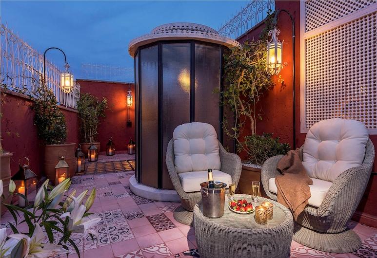 卡爾梅拉公主庭院飯店, 馬拉喀什, 普通套房, 露台, 露台