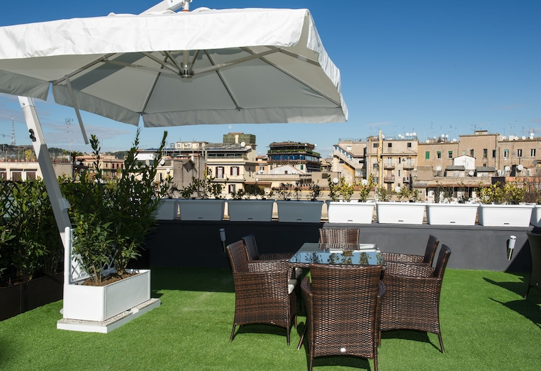Brunelleschi Luxury Holidays, Rome, Terrace/Patio