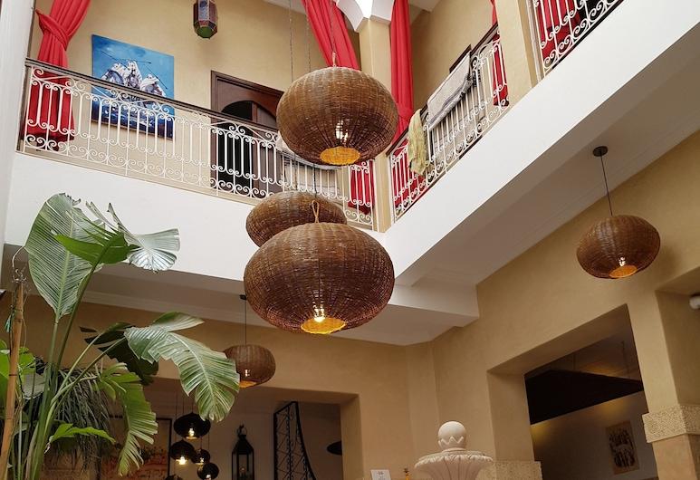 Riad Al Wafaa, Marrakech, Bar-salon de l'hôtel