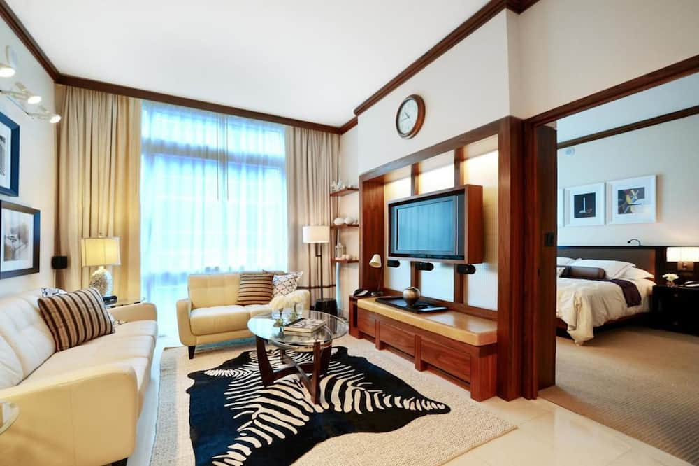 City Apartment, 2 Bedrooms, Non Smoking, Kitchen - Living Room