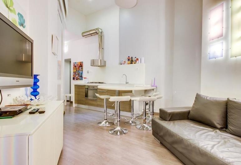 巴貝里尼公寓酒店, 羅馬, 公寓, 2 間臥室, 客廳