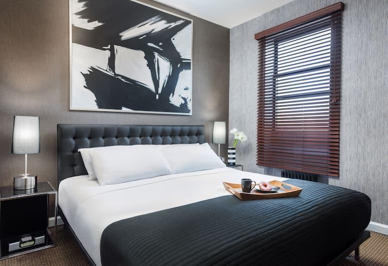Park West Hotel, New York, Standardværelse - 1 kingsize-seng, Værelse