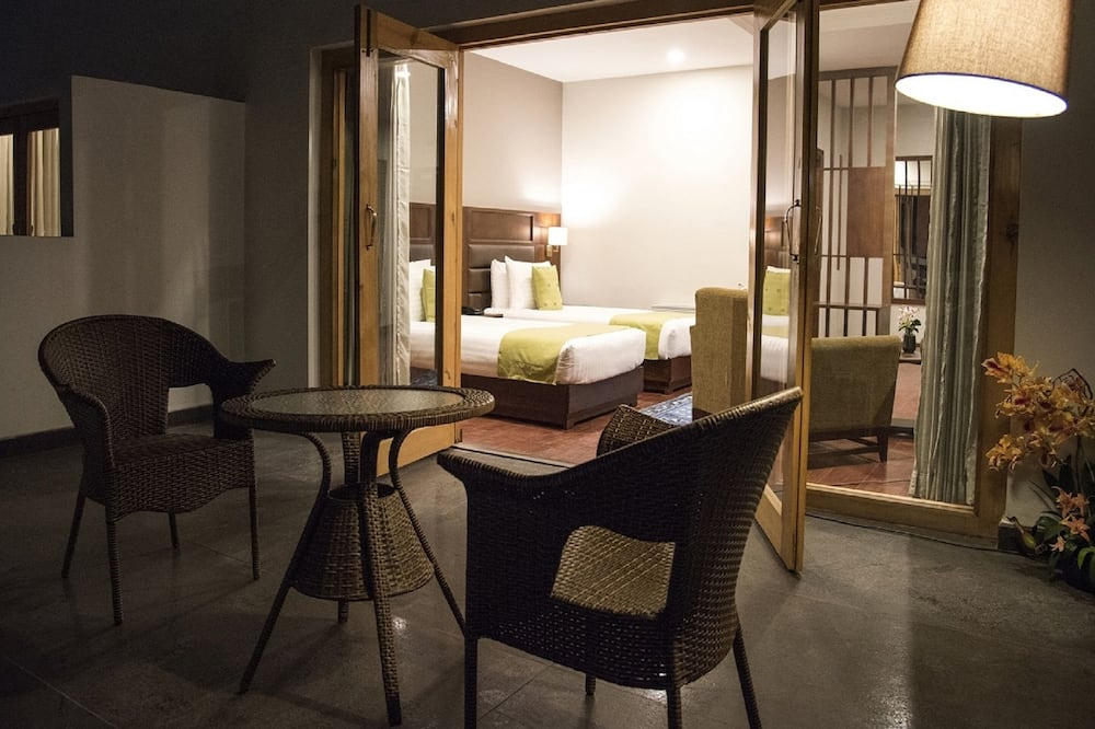 Superior tweepersoonskamer, 1 slaapkamer, Balkon - Kamer