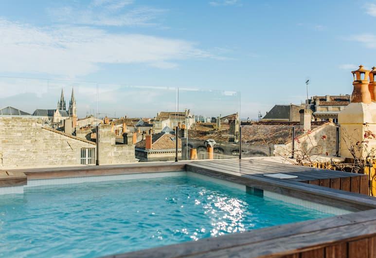 La Course Maison D'Hôtes de Luxe, Bordeaux, Suite, piscine privée, Chambre