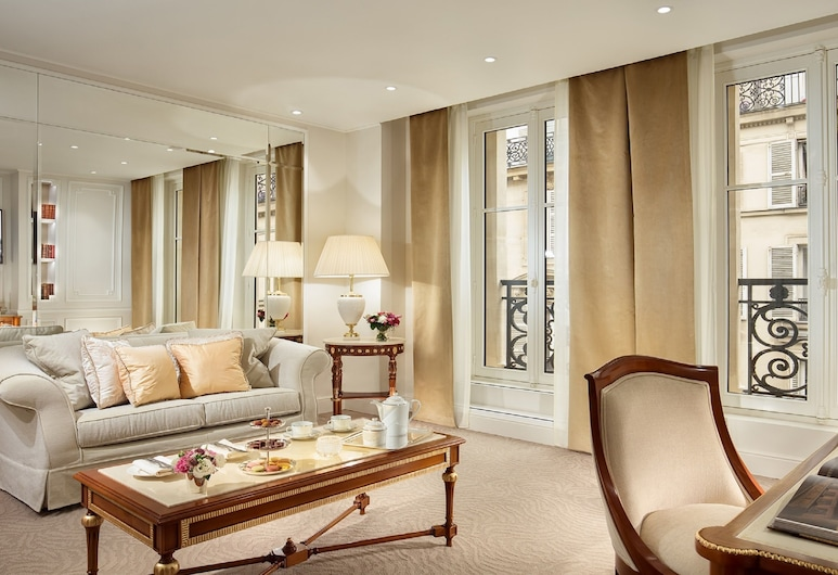 Hôtel Splendide Royal Paris - Relais & Châteaux, Paris, Suite Elysée, Living Room