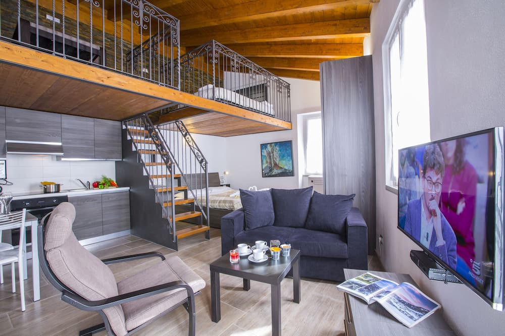 غرفة دوبلكس (studio) - منطقة المعيشة