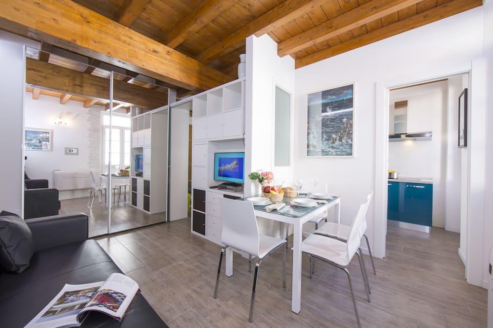 شقة، غرفة نوم واحدة - منطقة المعيشة