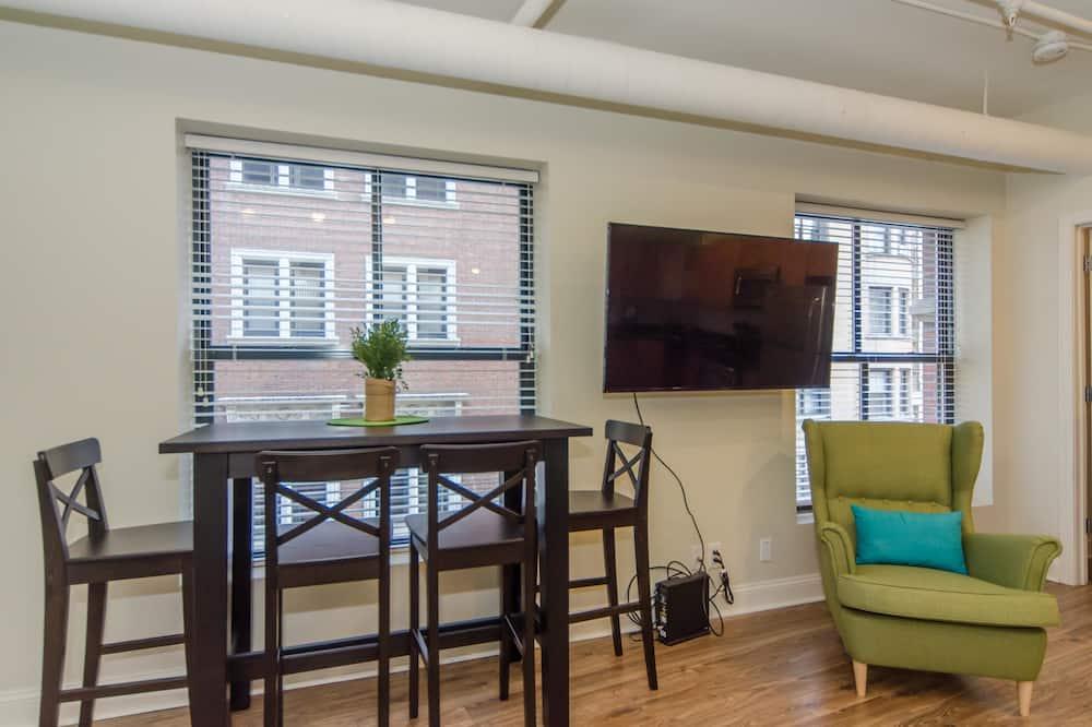 Apartmán, 2 spálne, výhľad - Obývacie priestory