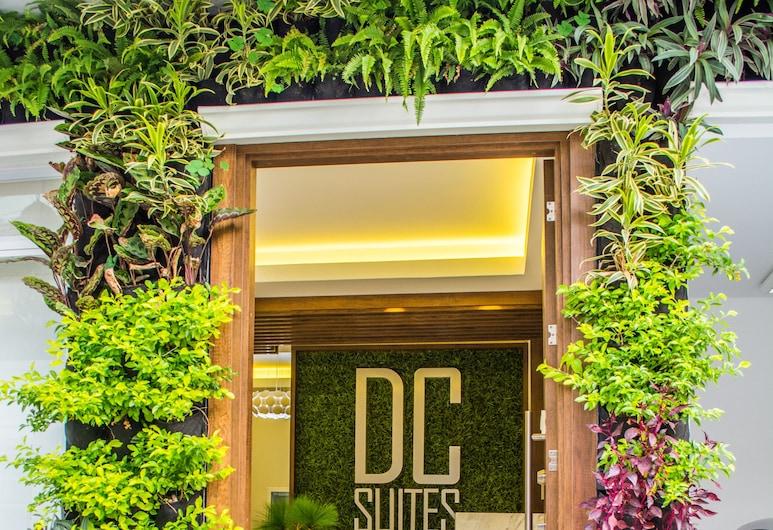 DC 스위트 에어로푸에르토, 과야킬, 호텔 입구