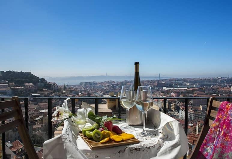 Graça Castle - Lisbon Cheese & Wine Apartments, Λισσαβώνα, Γεύματα σε εξωτερικό χώρο