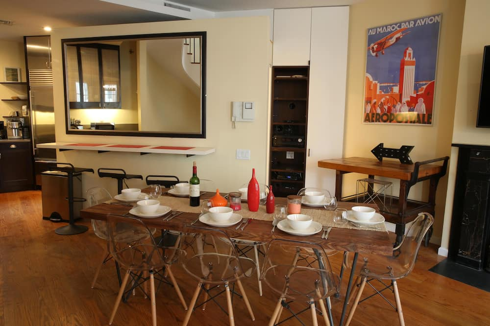 อพาร์ทเมนท์, 3 ห้องนอน, เห็นวิว - บริการอาหารในห้องพัก