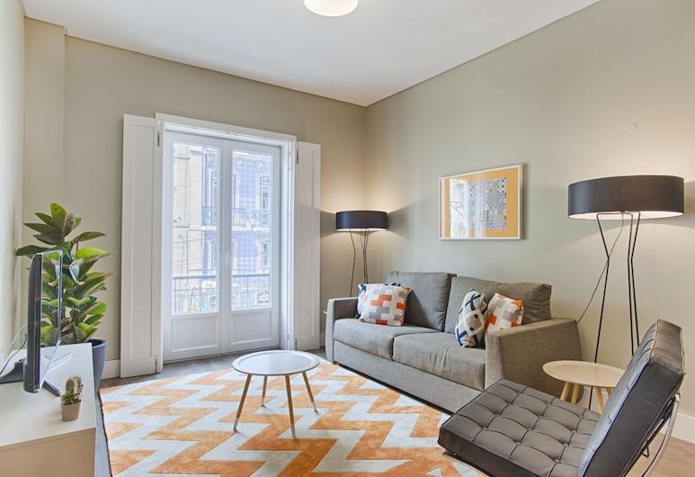 Chiado Mercy - Lisbon Best Apartments, Lissabon, Superior-íbúð - 2 svefnherbergi, Stofa