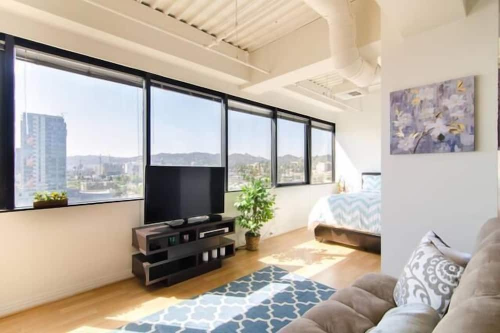Apartmán, viacero postelí, výhľad - Obývacie priestory