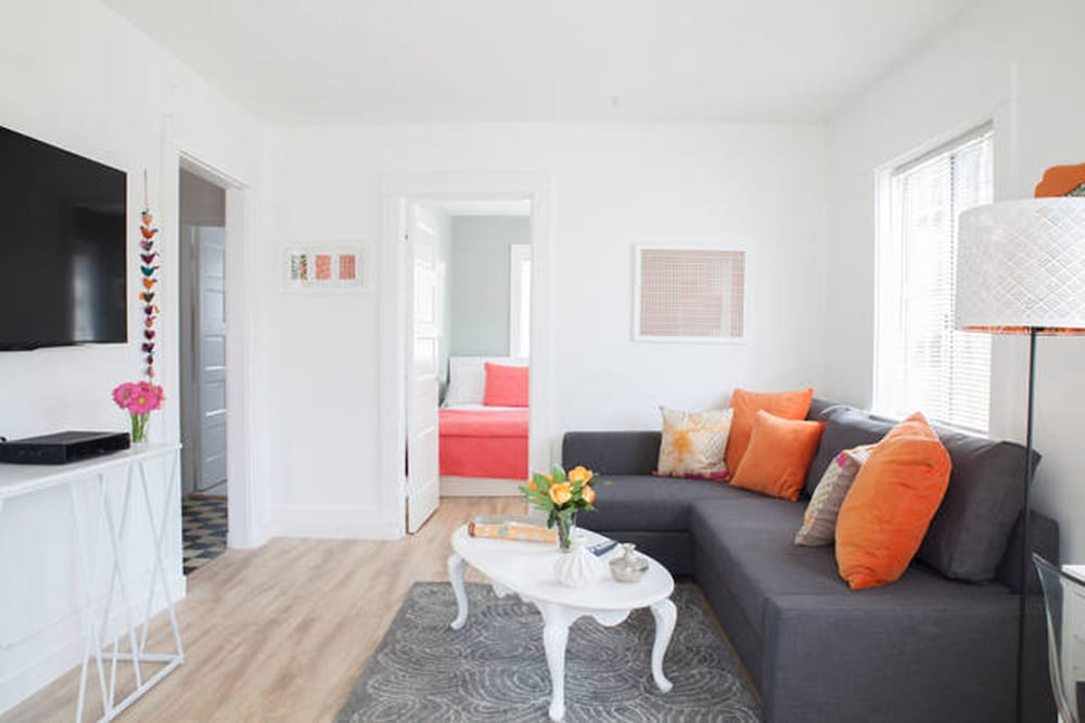 Boutique Abbot Kinney Venice Design Double Room 2 Bedrooms Living
