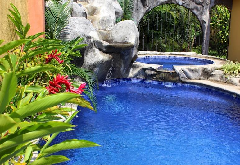 Hotel Casa Primo CR, Ciudad Cariari, Pool-Wasserfall