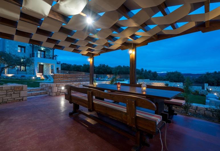 Olive Garden Villas, Mylopotamos, Villa, 3 Bedrooms, Private Pool (Elanthi), Terrace/Patio