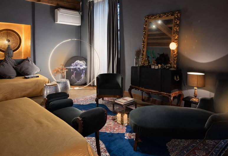 AD Lofts, Venice, Căn hộ có thiết kế đặc sắc, 1 phòng ngủ, Quang cảnh kênh (AD Loft), Phòng