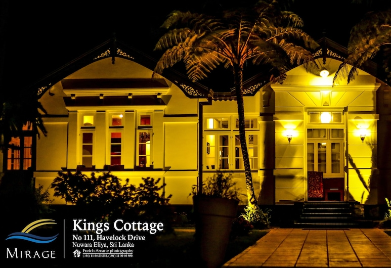 Mirage Kings Cottage, Nuwara Eliya, Hotel Front – Evening/Night