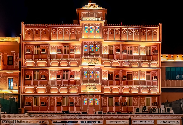 LMB Hotel, Jaipur, Fachada do hotel