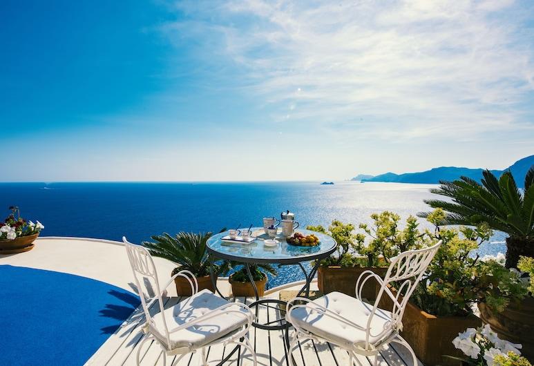 Calanteluna, Praiano, Panoramic Studio, 1 Katil Kelamin (Double), Kitchenette, Sea View, Teres/Laman Dalam