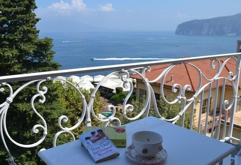 Al Centro Suites, Sorrento, Dupleks Deluks, 1 kamar tidur, teras, pemandangan laut, Balkon