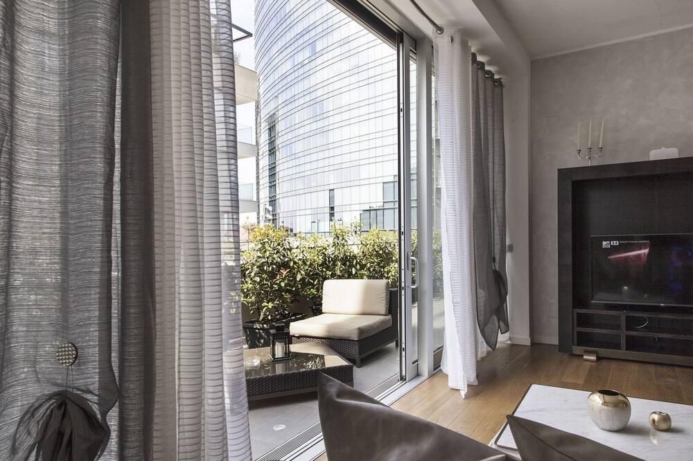Deluxe-lejlighed - 1 soveværelse (Collection - Via Capelli 6) - Stue