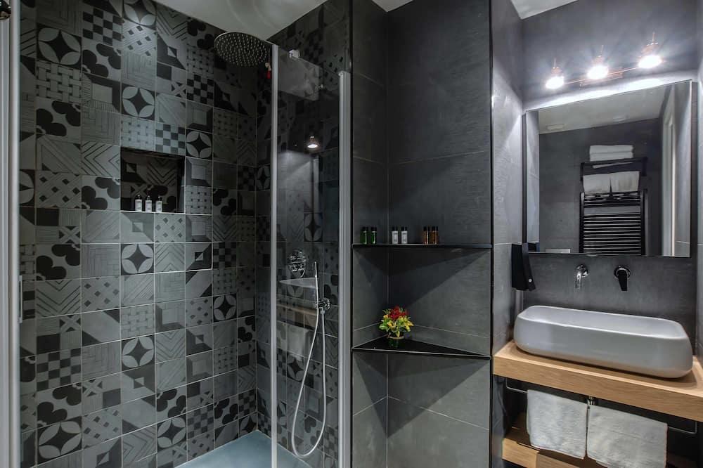 經濟雙人房, 地面 - 浴室