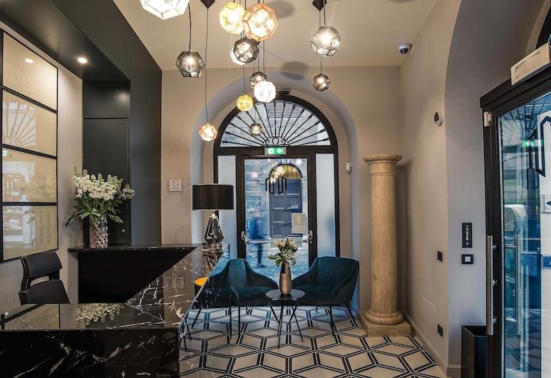 Navona Street Hotel, Rome, Reception