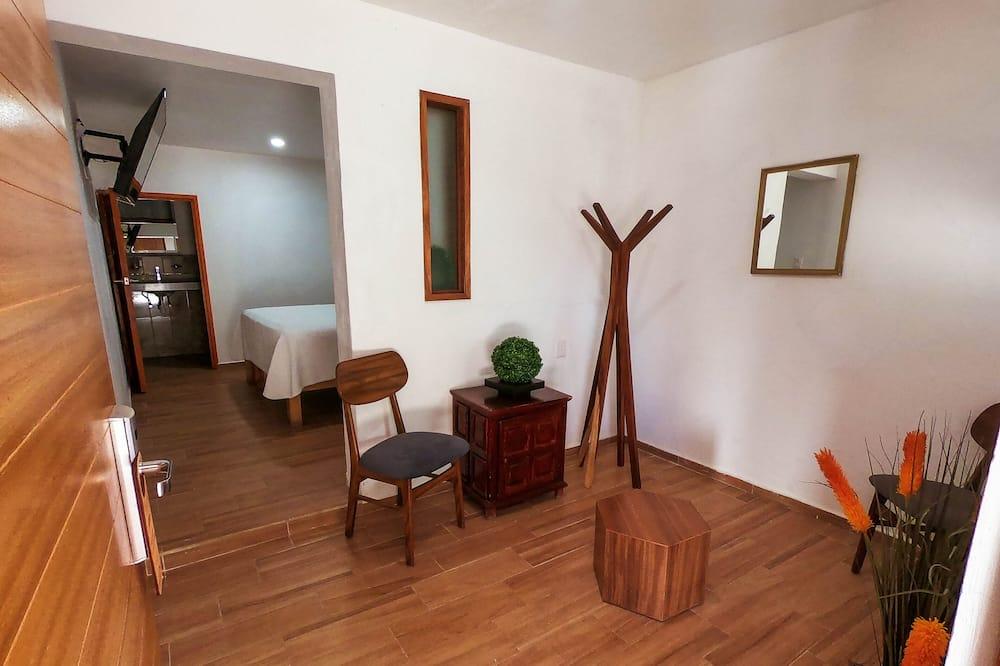 Dúplex Confort, 1 cama King size - Sala de estar