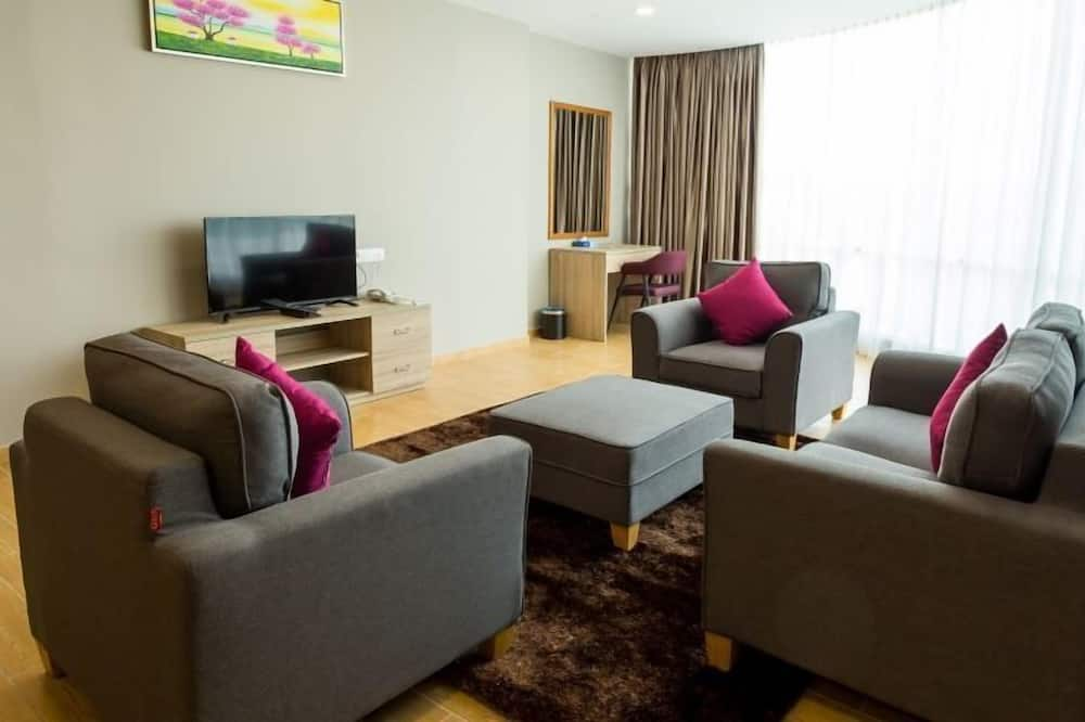 Executive Suite, 1 Bedroom - Living Room