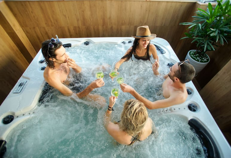 SH 歐洲酒店, 峴港, 室內 SPA 浴池