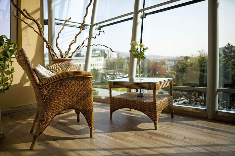Deluxe Business Room with Terrace - Terraza o patio