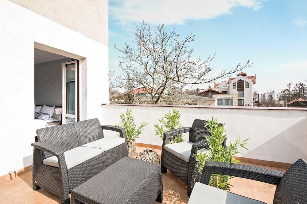Deluxe Apartment, 1 Bedroom, Terrace - Balcony