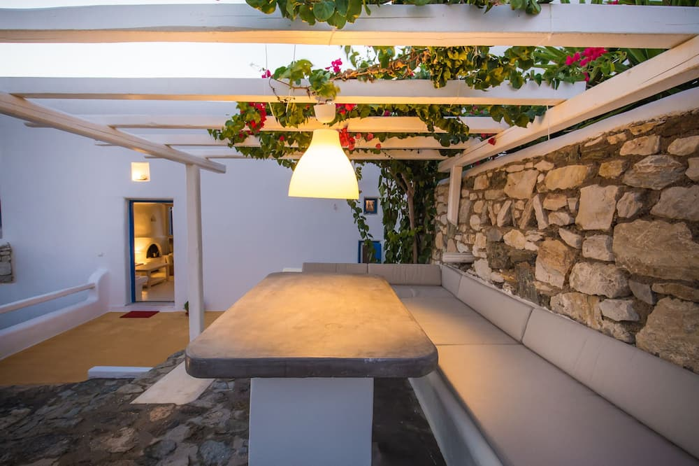 Vila Deluks, 4 kamar tidur, pemandangan laut - Balkon