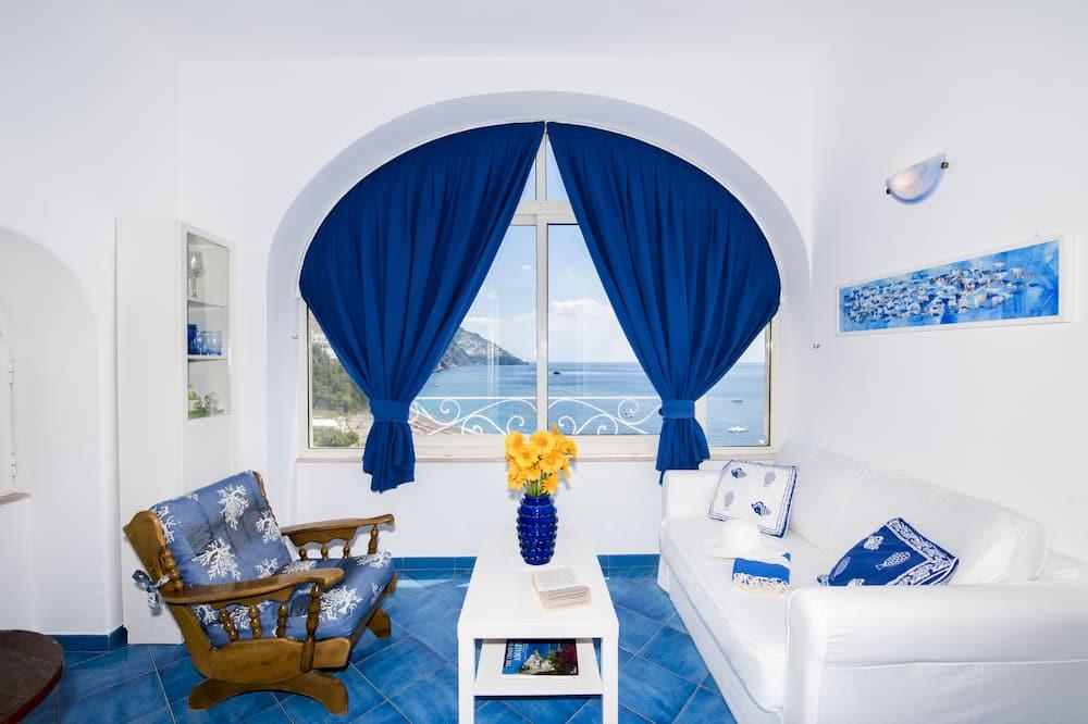 Căn hộ tiện nghi đơn giản, 2 giường đôi - Khu phòng khách