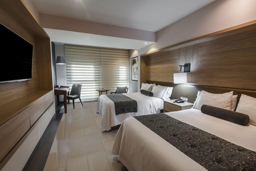 Habitación estándar, 2 camas matrimoniales - Habitación
