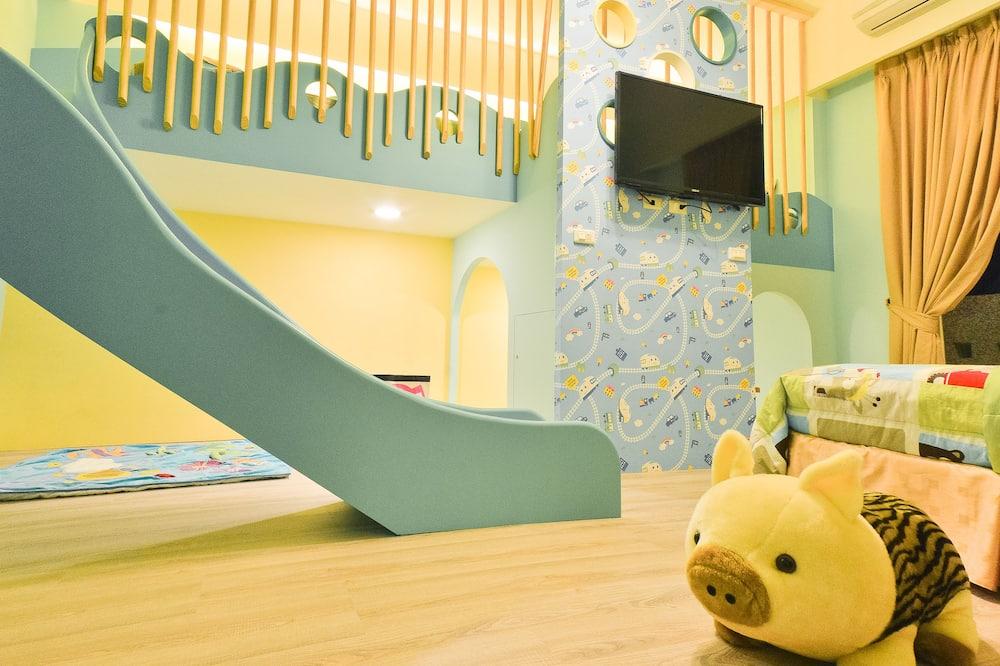 家庭客房 (需要有一位12歲以下孩童才能入住) - 兒童主題客房