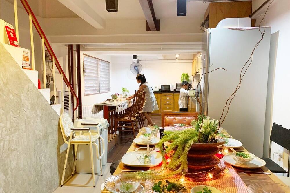 Design resortwoning, Meerdere slaapkamers - Ryokan-eetgelegenheid