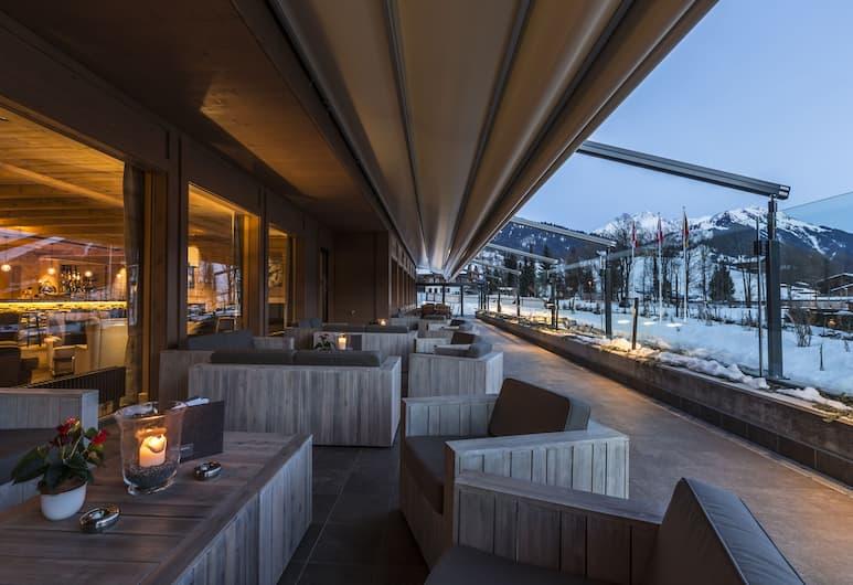 Hotel Spitzhorn, Saanen, Terrasse/patio