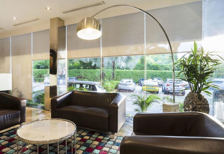 ZEN Rooms Orchard, Singapura, Tempat Duduk di Lobi