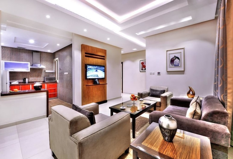 Auris Al Fanar Apartments, Riyadh, Living Area