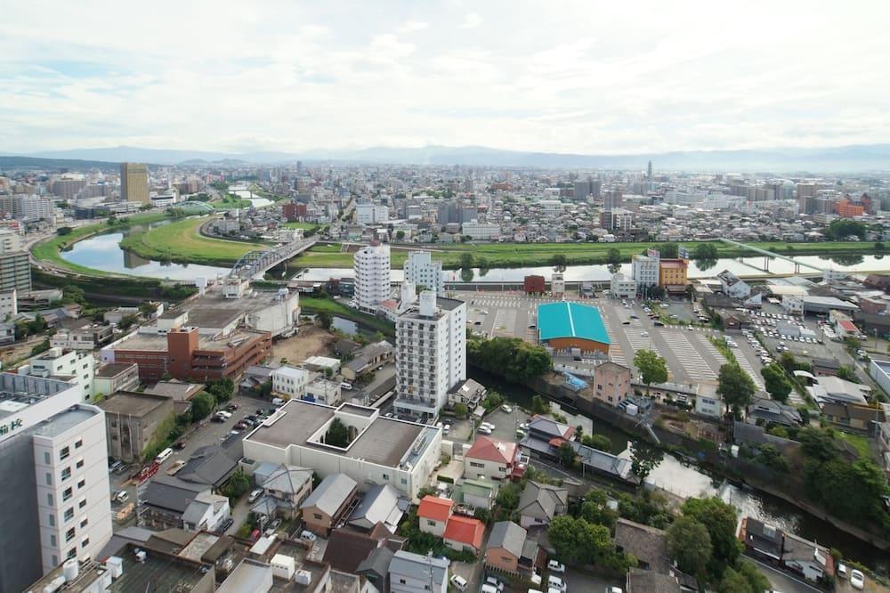 Pokoj Superior se dvěma jednolůžky, kuřácký - Výhled na město
