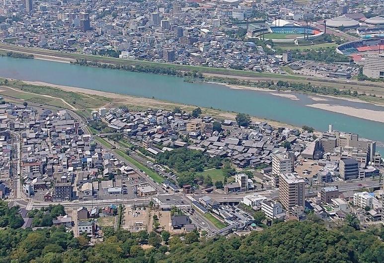 東横INN岐阜, 岐阜市, 施設からの眺め
