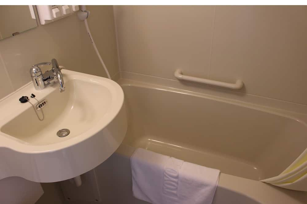 エコノミー ダブルルーム 禁煙 - バスルーム