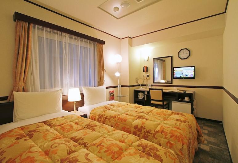 Toyoko Inn Hokkaido Kitami Ekimae, Kitami, Standard tvåbäddsrum - rökare, Gästrum